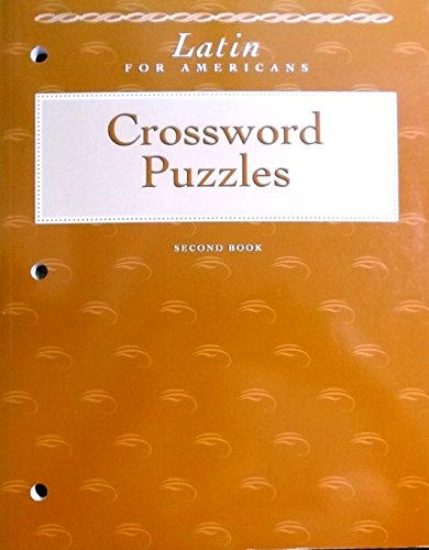 9780026460262: Latin for Americans: Second Book: Crossword Puzzles (Latin for Americans, Second Book)