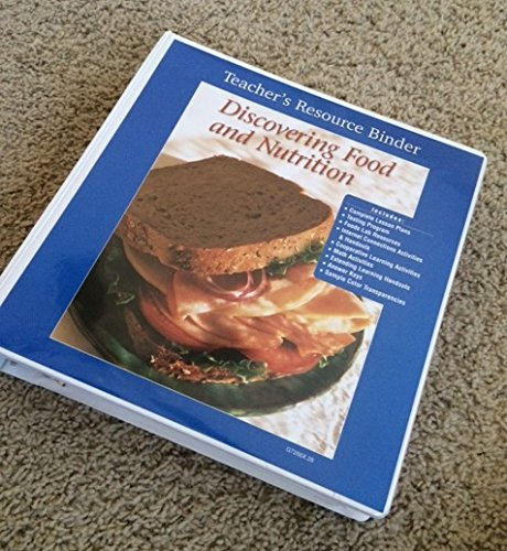 9780026472661: Discovering Food and Nutrition, Teacher's Resource Binder