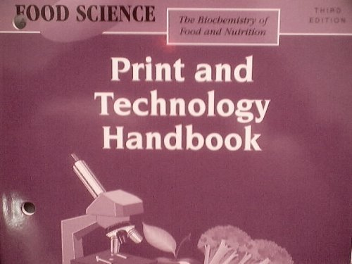 9780026476522: Food Science: The Biochemistry of Food and Nutrition Third Edition; Print and Technology Handbook