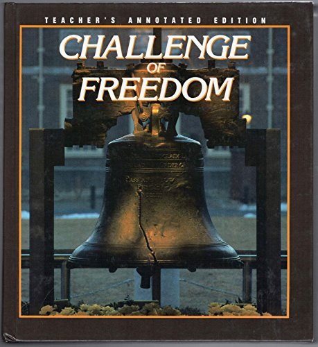 9780026500630: Challenge of Freedom: Annotated Instructor's Manual