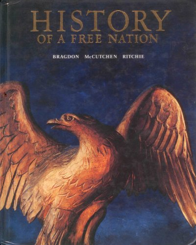 9780026500999: History of A Free Nation -Stud.