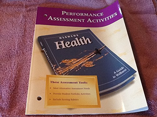 9780026515795: Glencoe Health Performance Assessment Activities