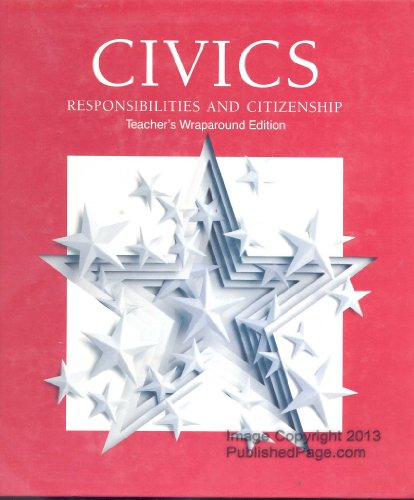 9780026529617: Civics Responsibilities and Citizenship Teacher's Wraparound Edition (1992)