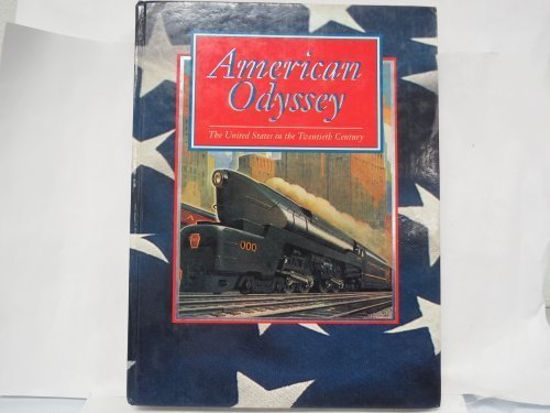 9780026529839: American Odyssey the United States in the 20th Century