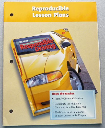 9780026533911: Reproducible Lesson Plans (Responsible Driving Series)