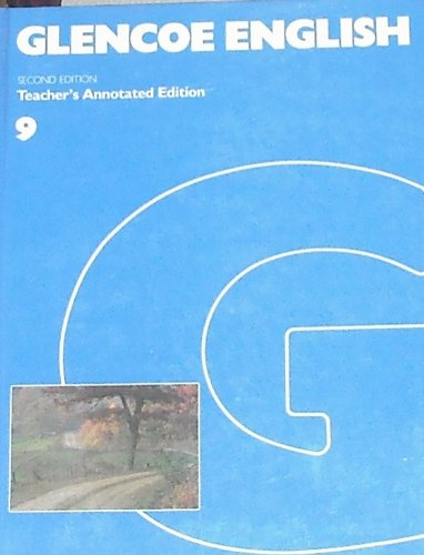 9780026546805: Glencoe English 9 Teachers Edition
