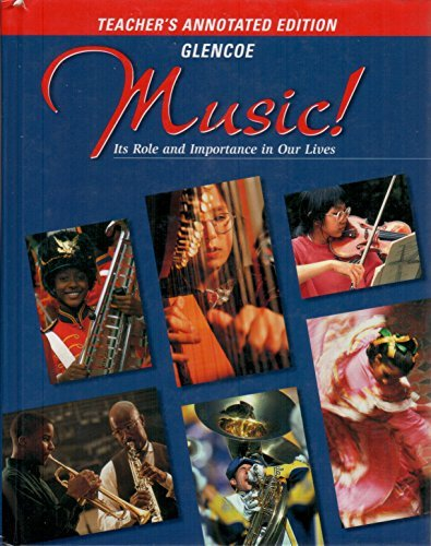 9780026556934: Music Its Role and Importance in Our Lives