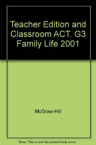 9780026563352: Family Life - Teacher's Edition