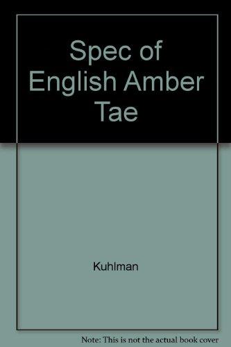 9780026567800: Spec of English Amber Tae