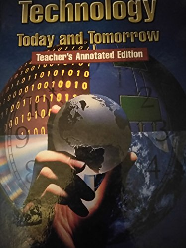 9780026585705: Technology Today and Tomorrow