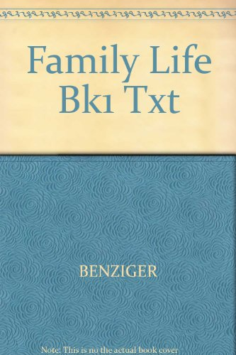 9780026590501: Family Life Bk1 Txt
