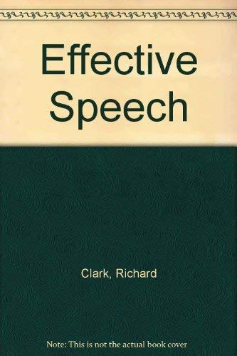 9780026598507: Effective Speech