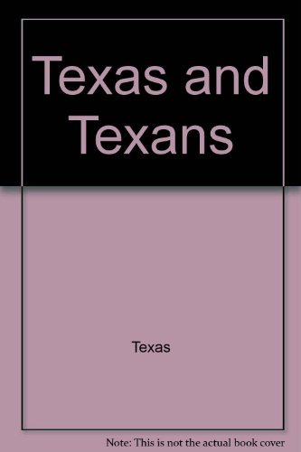 9780026599108: Texas and Texans