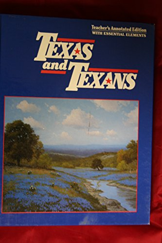 9780026599207: Texas and Texans