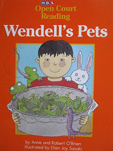 9780026608596: Wendell's Pets (Decodable Book, Level B, Set 1, Book 32)