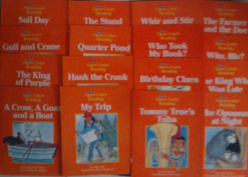 9780026608916: Open Court Decodable Small Group Reading Books Level B Set 1 Books 33-40 and 52-59 (Open Court Reading Decodable Small Group Reading Books)