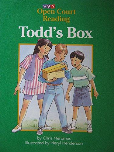 9780026609326: Todd's Box (SRA Open Court Reading, Level C Set 1 Book 3)