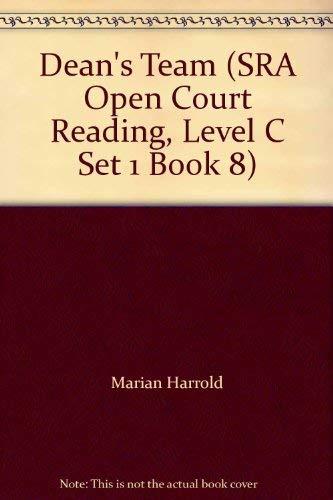 9780026609371: Dean's Team (SRA Open Court Reading, Level C Set 1 Book 8)