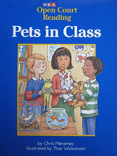 9780026609852: Pets in Class (SRA Open Court Reading)