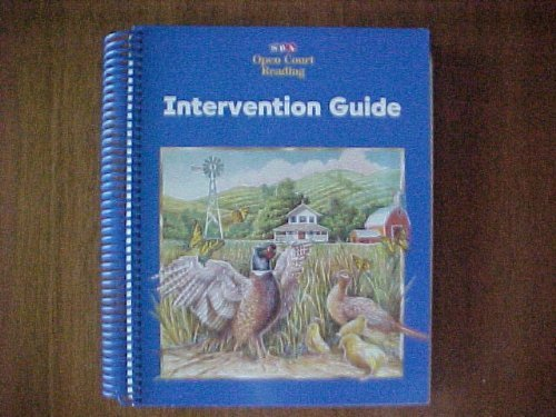 9780026610377: SRA Open Court Reading Intervention Guide Level 3