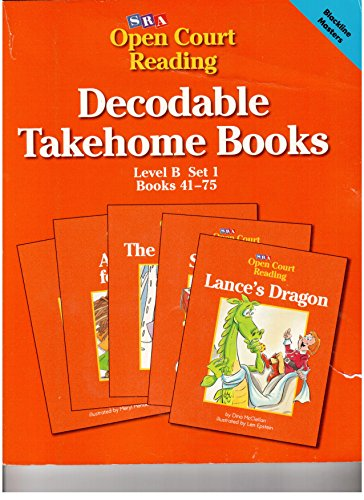 9780026610490: Decodable Takehome Books - Open Court Reading (Level B Set 1 Books 41-75)