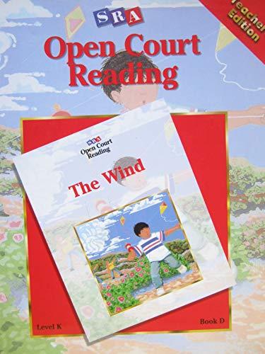 9780026611435: SRA Open Court Reading Level K Book D The Wind Teacher's Edition (sra)