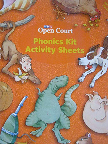 9780026612494: Open Court Phonics Kit Activity Sheets Level 1 Blackline Masters