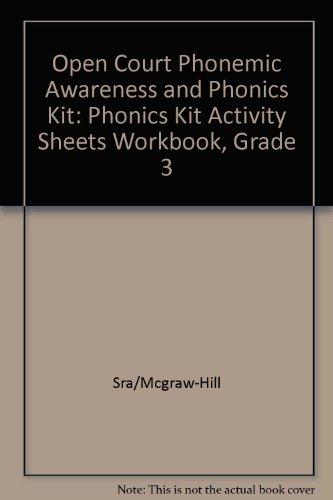 9780026612838: Open Court Phonemic Awareness and Phonics Kit: Phonics Kit Activity Sheets Workbook, Grade 3