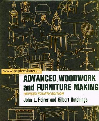 9780026620802: Advanced Woodwork and Furniture Making