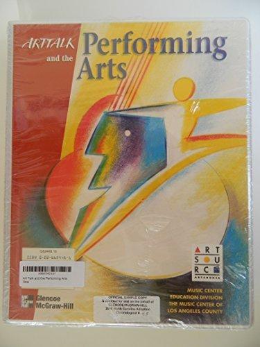 9780026624480: Art Talk and the Performing Arts