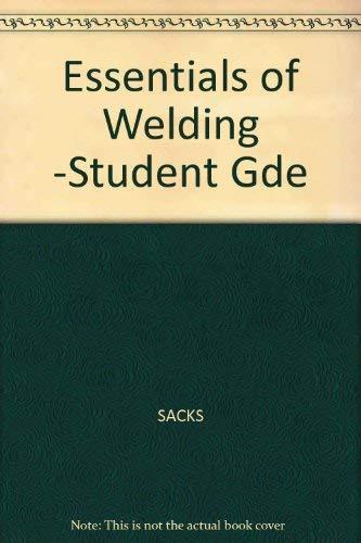 9780026636407: Essentials of Welding