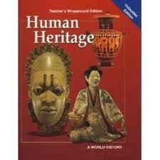 Human Heritage a World History Teacher's Wraparound: Greenblatt, Lemmo