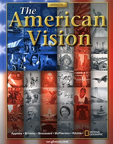9780026641180: The American Vision, Student Edition