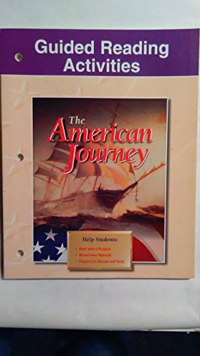 9780026646611: Guided Reading Activities With Answer Key (Glencoe The American Journey)