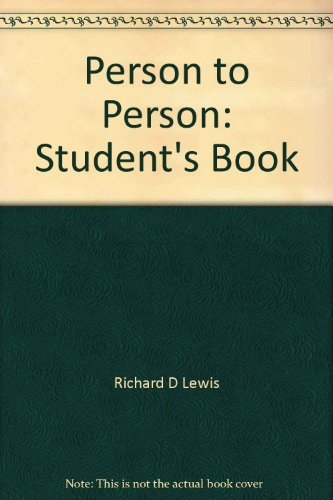 9780026653404: Person to Person Student Guide