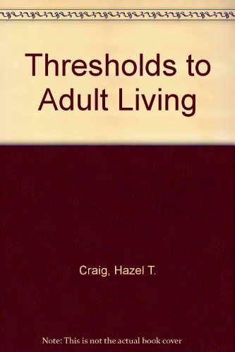 9780026659406: Thresholds to Adult Living