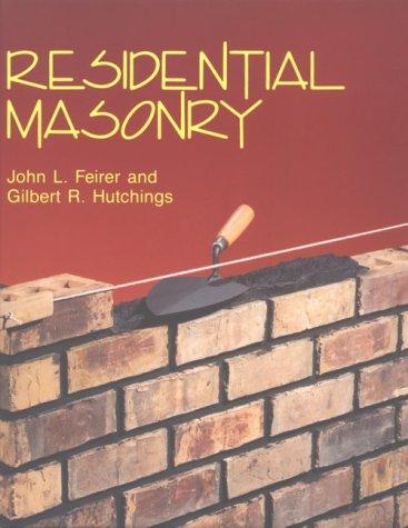 9780026681001: Residential Masonry
