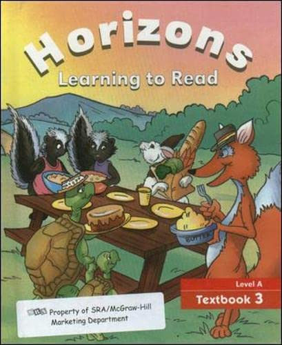 9780026741927: Horizons Learn to Read Level A Text 3
