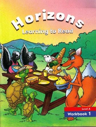 9780026741934: Horizons Learning to Read Level A Workbook 1