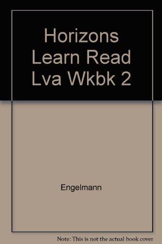 9780026741941: Horizons Learn Read Lva Wkbk 2