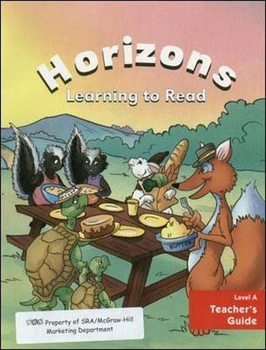 9780026742351: Horizons Learning to Read, Level A, Teacher's Guide