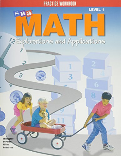 9780026742412: SRA Math: Explorations & Applications, Level 1: Practice Workbook