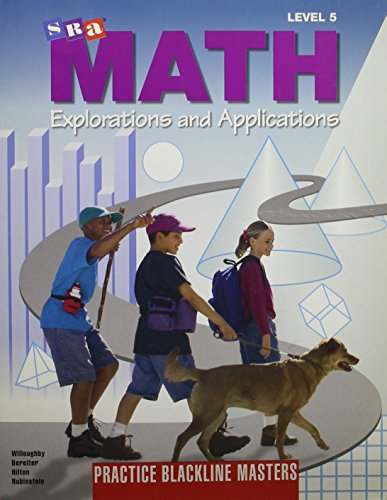 9780026742535: SRA Math Explorations and Applications, Level 5, Assessment Blackline Masters