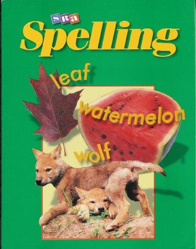 9780026745758: SRA Spelling