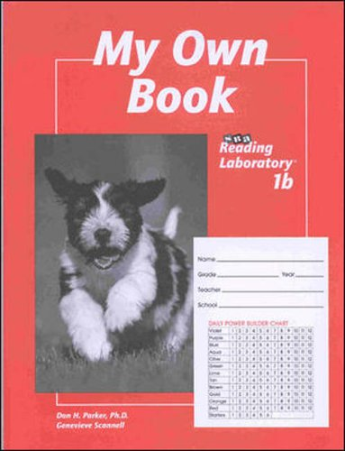 9780026745833: SRA Developmental Reading Lab 1b: Student Record Book - My Own Book (Package of 5), Level 1.4-4.5, Grades 1-3, Economy Edition
