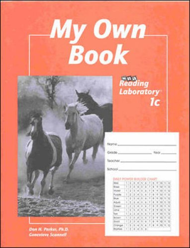 9780026745864: My Own Book: SRA Reading Laboratory 1c (5-Pack)