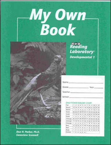 9780026745895: Student Record Book for Reading Lab 1d 1998