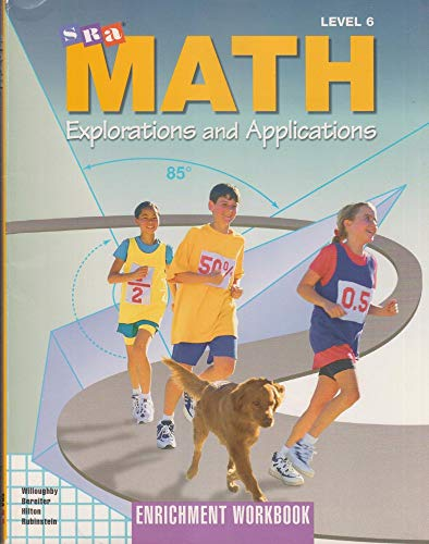 9780026746052: SRA Math Explorations & Applications, Level 6: Enrichment Workbook