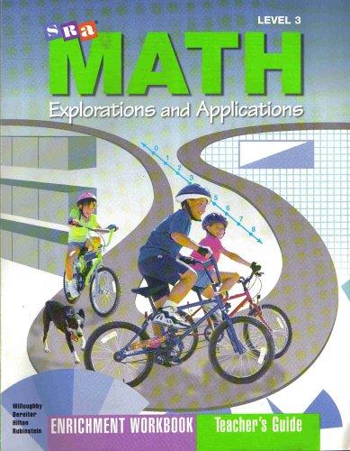 9780026746090: SRA Math Explorations and Applications Enrichment Wokbook Teacher's Guide Level 3