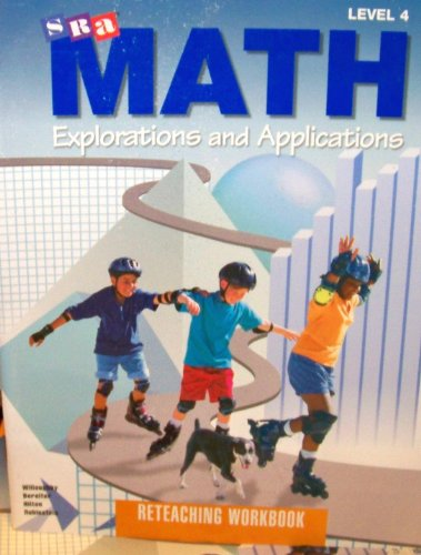 9780026746175: SRA Math 4 Reteaching Workbook (Explorations&Applications)
